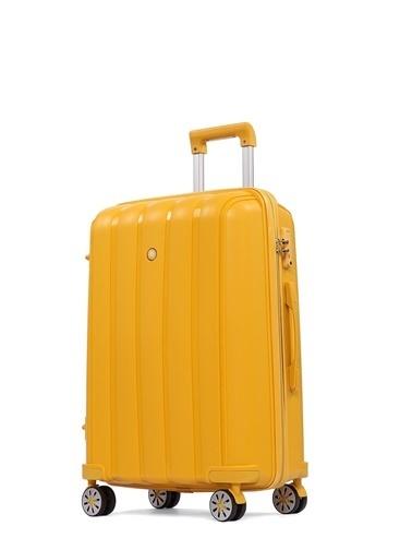 Cengiz Pakel Büyük Boy Valiz Sarı